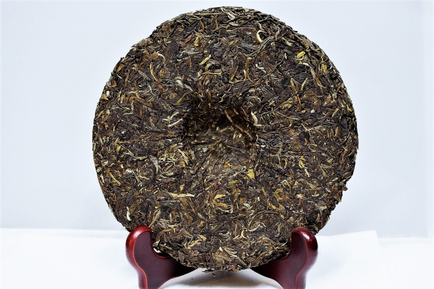 2013 Bing Dao Raw Cake- Aged Tea Tree 4